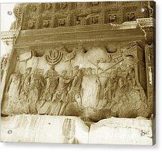 Arch Of Titus Acrylic Print