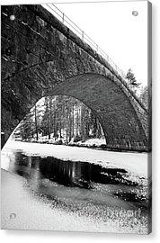 Arch Acrylic Print by Tapio Koivula