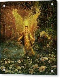 Archangel Azrael Acrylic Print