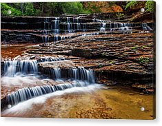 Archangel Falls Acrylic Print by James Marvin Phelps