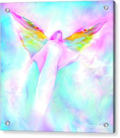 Archangel Gabriel In Flight Acrylic Print