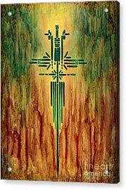 Archangel Michael Acrylic Print