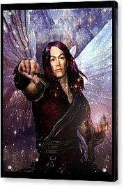 Archangel Raphael Heals Acrylic Print