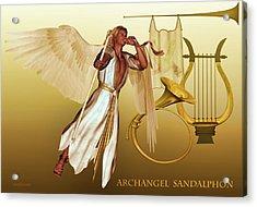 Archangel Sandalphon Acrylic Print