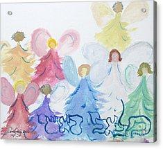 Archangels    Malchei Roshei Acrylic Print