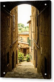 Arched Alley Acrylic Print