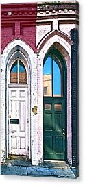050 - Door One And Door Too Acrylic Print