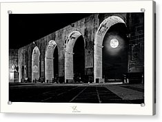 Arched Moon Acrylic Print