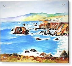 Arched Rock Sonoma Coast California Acrylic Print