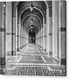 Arched Walkway Acrylic Print