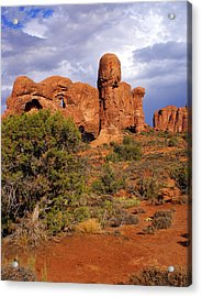 Arches 14 Acrylic Print by Marty Koch