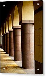 Arches And Columns 2 Acrylic Print by John Gusky