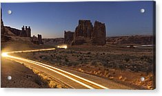 Arches Evening Exit Acrylic Print