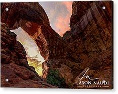 Arches Acrylic Print by Jason Naudi