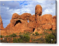 Arches National Park 8 Acrylic Print by Marty Koch