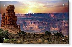 Arches National Park Canyon Acrylic Print