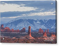 Arches National Park, Sunset Acrylic Print