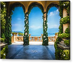Arches Of Italy Acrylic Print