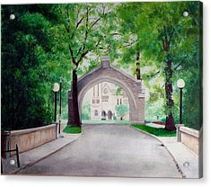 Arches Of Shadduck St Mary Acrylic Print by Marcus Moller