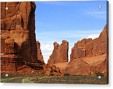 Arches Park 2 Acrylic Print by Marty Koch