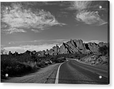 Arches Road Acrylic Print