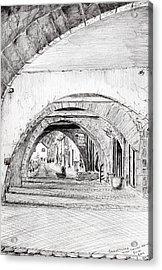 Arches Sauveterre France Acrylic Print