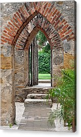 Arches To Heaven Acrylic Print