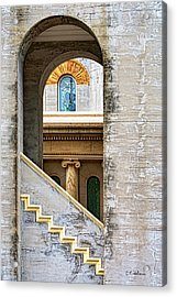 Arches Within Arches Acrylic Print by Christopher Holmes