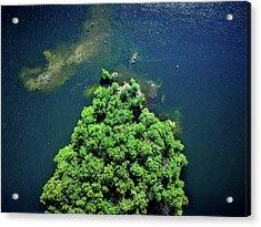 Archipelago Island - Aerial Photography Acrylic Print
