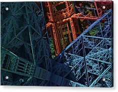 Architect's Nightmare Acrylic Print by Lyle Hatch