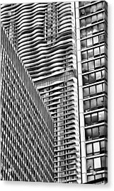 Architectural Abstract Acrylic Print by Robert  FERD Frank