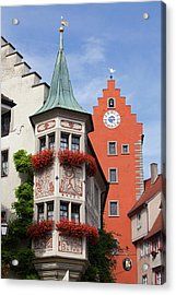 Architectural Details In Old City Acrylic Print