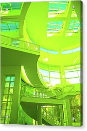 Green Splash Architecture Acrylic Print