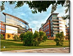 Acrylic Print featuring the photograph Architecture In Fort Worth by Ricardo J Ruiz de Porras