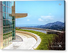 Architecture J. Paul Getty Museum California  Acrylic Print