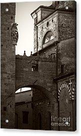 Architecture Of Pistoia Acrylic Print