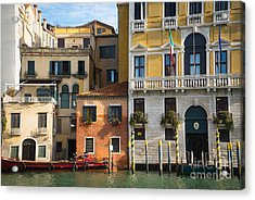 Architecture Of Venice - Italy Acrylic Print