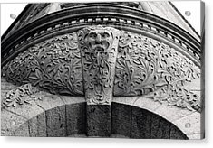 Archway In Old Montreal Acrylic Print by Henry Krauzyk