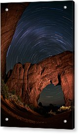 Archway Rotation Acrylic Print by Mike Berenson