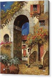 Arco Al Buio Acrylic Print by Guido Borelli