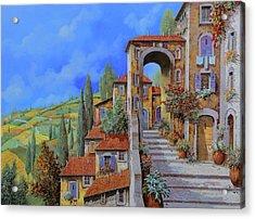 Arco Dopo Le Scale Acrylic Print