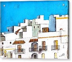 Arcos De La Frontera Spain Acrylic Print