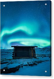 Arctic Escape Acrylic Print by Tor-Ivar Naess