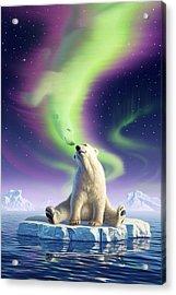 Arctic Kiss Acrylic Print by Jerry LoFaro