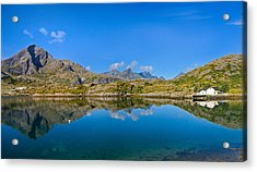 Acrylic Print featuring the photograph Arctic Reflections by Maciej Markiewicz