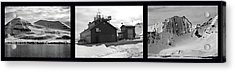 Arctic Triptych Acrylic Print by Terence Davis