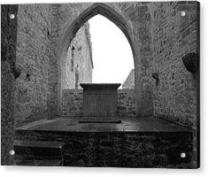 Ardfert Cathedral Acrylic Print