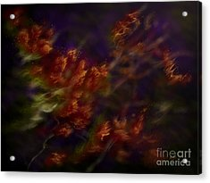Acrylic Print featuring the digital art Ardor by Amyla Silverflame