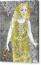 Area Woman Acrylic Print