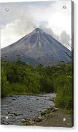 Arenal By Day Acrylic Print